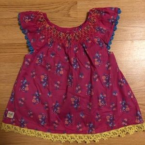 """Wildflowers"" tunic size 2"